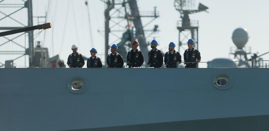 Ispanijos karo laivas ruošiasi evakuoti 15 migrantų iš Lampedūzos