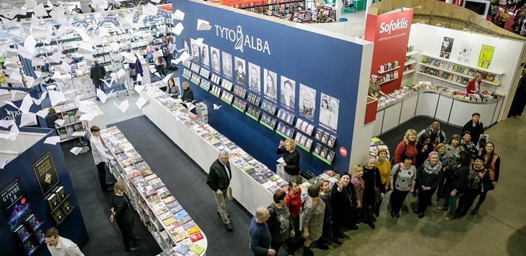 Sostinėje atidaryta 20-oji Vilniaus knygų mugė