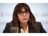Graikijos parlamentas ruošiasi išrinkti pirmąją moterį prezidentę
