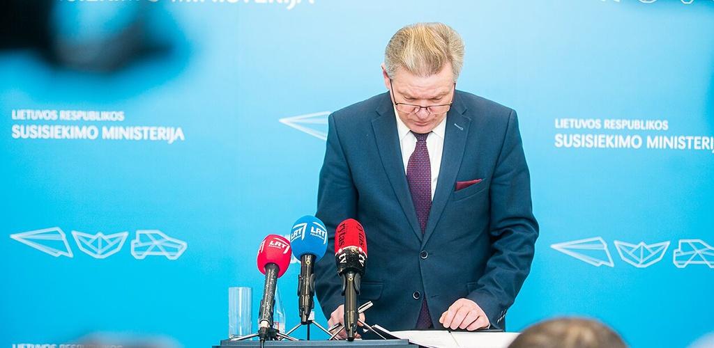 J. Narkevičius: savivaldybių keliams Vyriausybė numato 114 mln. eurų – daugiau nei pernai